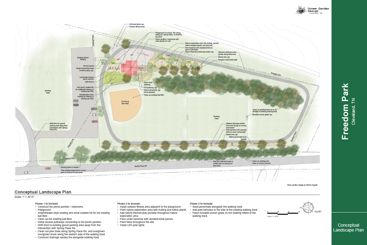 Freedom Park Concept Plan